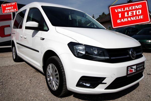 Volkswagen Caddy 2.0 TDI Comfortline – 1. LAST.- SLO – BREZ POLOGA