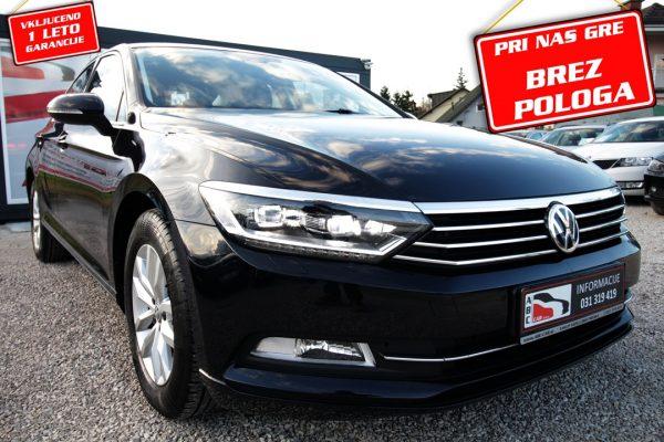 Volkswagen Passat 2.0 TDI – LED ŽAROMETI – SLO – BREZ POLOGA
