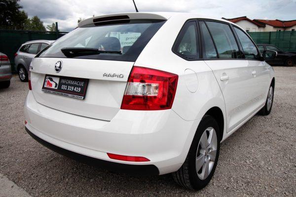 Škoda Rapid Spaceback 1.4 TDI Ambition – SLO – 1. LAST.