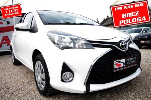 Toyota Yaris 1.33 VVT-i – SLO – 1. LAST. – BREZ POLOGA