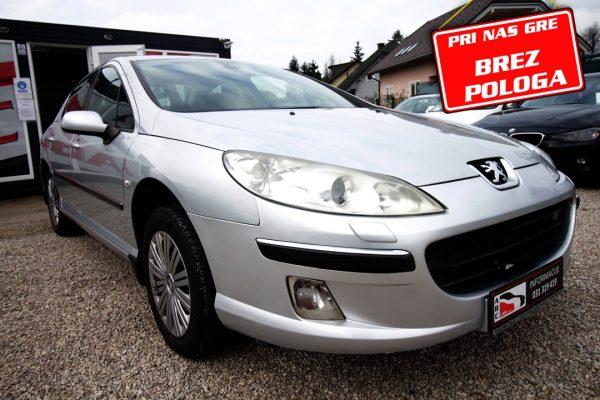 Peugeot 407 2.0 HDi 16V – BREZ POLOGA
