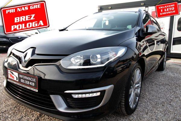 Renault Megane Grandtour dCi 110 GT Line – BREZ POLOGA – 1. LAST.