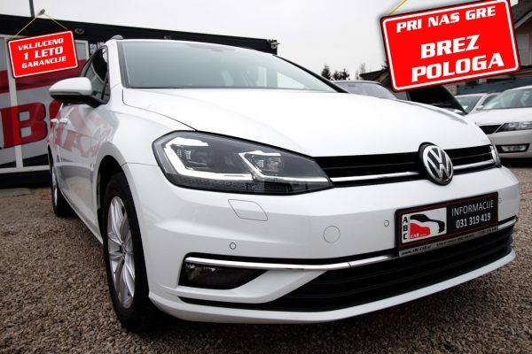 Volkswagen Golf Variant 2.0 TDI Highline – 1. LAST – BREZ POLOGA