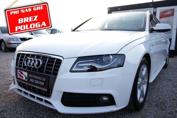 Audi A4 Avant 2.0 TDI – SLINE – XENON – BREZ POLOGA